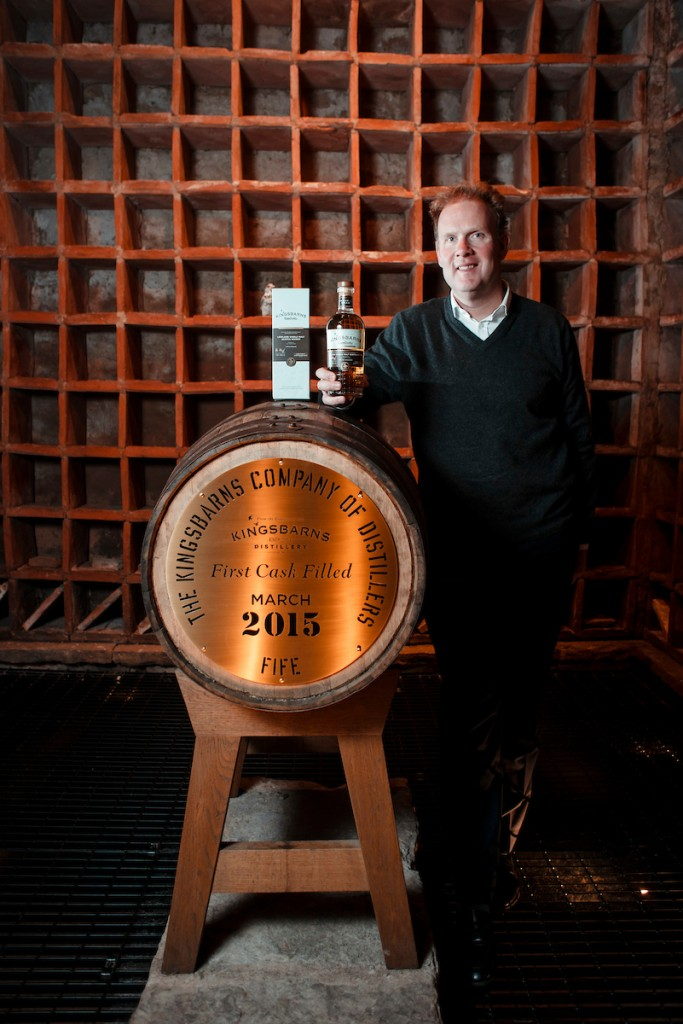 Kingsbarns distillery releases its first single malt whisky.