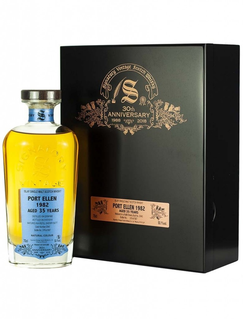 f908e29cebb0 Port Ellen 35 Year Old 1982 Signatory 30th at The Whisky Barrel – Scotch  Whisky News