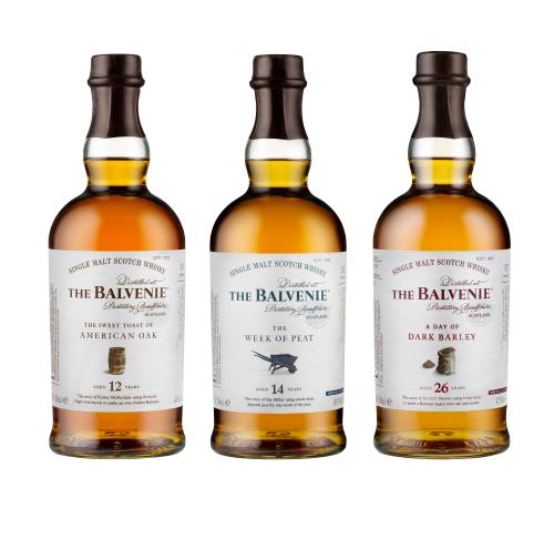 Balvenie Range Shot