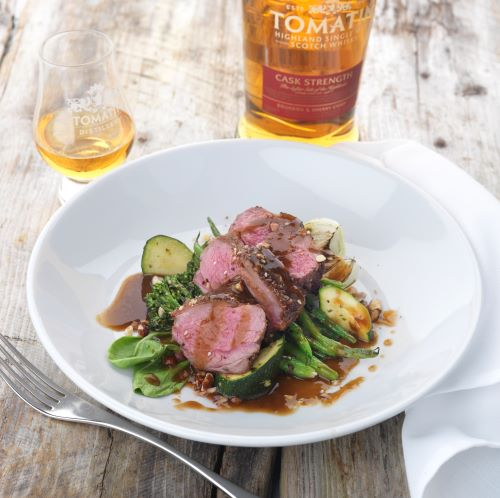 Tomatin lamb cask strength