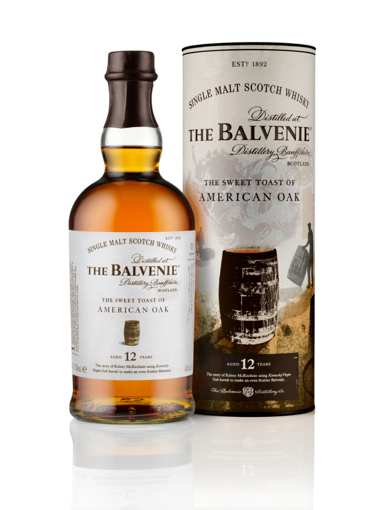 Balvenie 12 Year Old - The Sweet Toast of American Oak -B_1