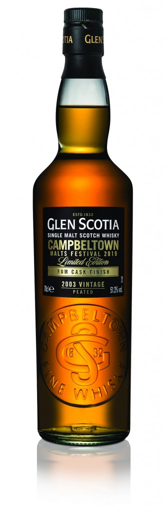 Glen Scotia Rum Cask Finish 2003 Bottle