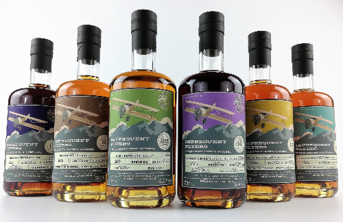 Infrequent Flyers Batch 6 at Inverurie Whisky Shop – Scotch Whisky News
