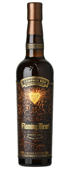 """Compass Box """"Flaming Heart"""" Sixth Limited Edition Blended Malt Whisky at K&L California – Scotch Whisky News"""