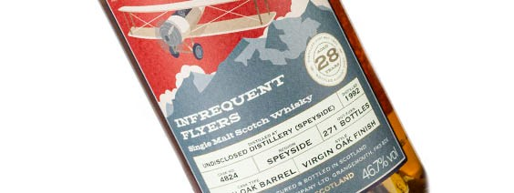 Speyside 28 Year Old 1992 Infrequent Flyers at The Whisky Barrel – Scotch Whisky News